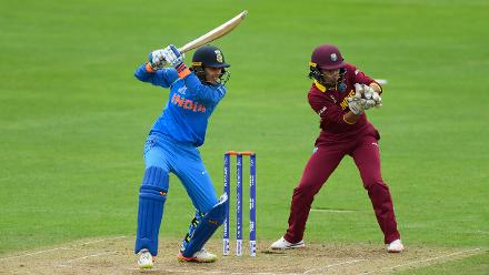 Smriti Mandhana, however, continued sublimely and brought up a measured fifty to keep India on course.