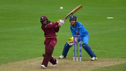 Afy Fletcher's unbeaten 23-ball 36 provided West Indies late impetus, which helped them to 183 for 8 in 50 overs.