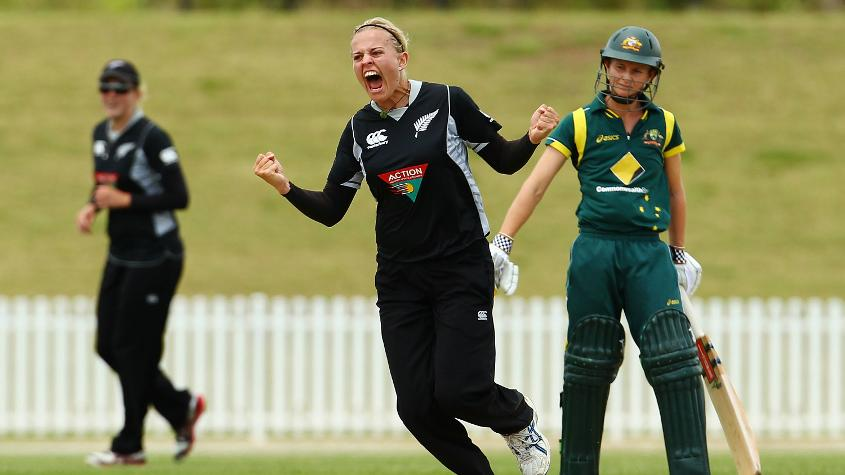 New Zealand's pacer isn't 'intimidating'. At all. But one would be well advised against messing with the fastest bowler in women's cricket right now.
