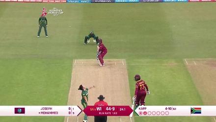 #WWC17 WI v SA match highlights