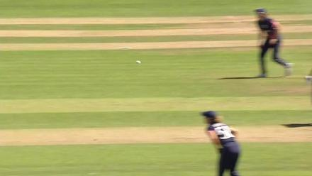 WICKET: Dilani Manodara falls to Heather Knight for 28