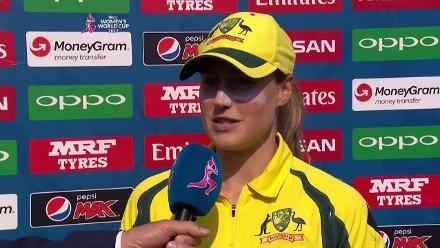 AUSw vs NZw - Player of the Match - Ellyse Perry