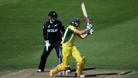 Ellyse Perry's 91-ball 71 put down the anchor for Australia to ease past the target with five wickets to spare.