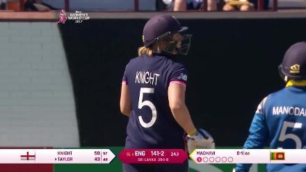 Heather Knight's match winning 82