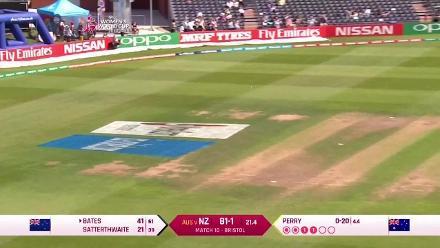 FIFTY: Suzie Bates scored a half-century in her 100th ODI