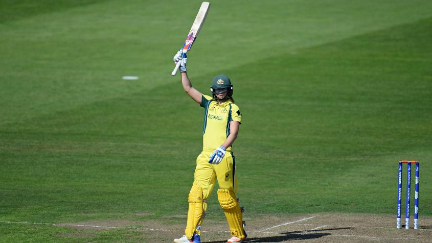 Ellyse Perry top scored with 71.
