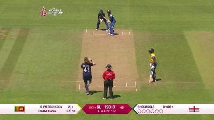Match highlights - ENG vs SL