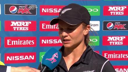 AUSw v NZw - Captains Interview
