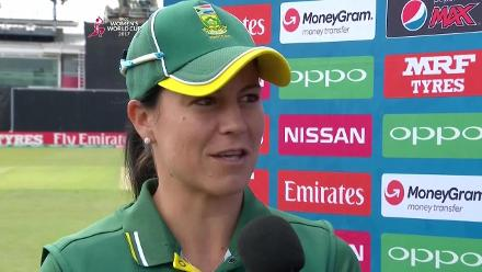 #WWC17 WI v SA: Player of the Match - Marizanne Kapp