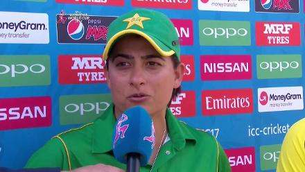 #WWC17 AUS v PAK - Captains Interview