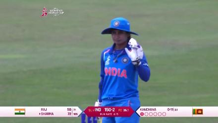 FIFTY: Mithali Raj brings up her half-century