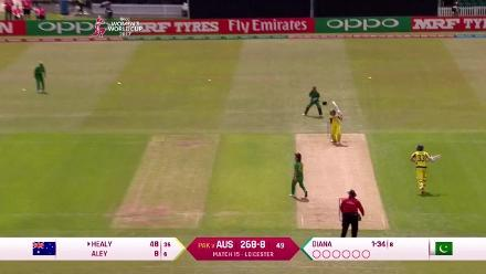 #WWC17 AUS v PAK - Match highlights