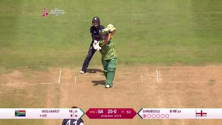 #WWC17 South Africa breach the 50-run mark