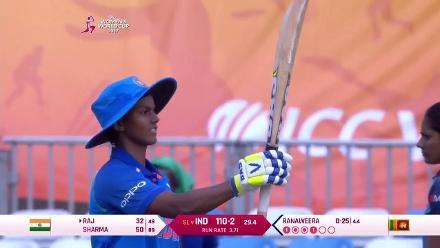 #WWC17 SL v IND - Deepti Sharma's innings