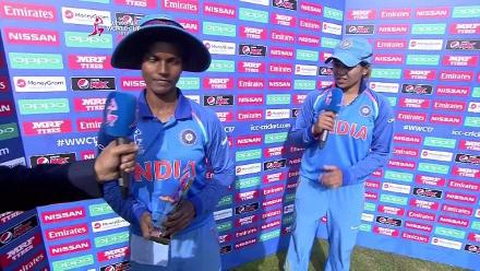 #WWC17 SL v IND - Player of the Match - Deepti Sharma