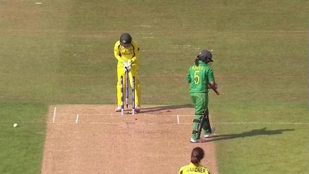 #WWC17 AUS v PAK - Pakistan tail-ender wickets