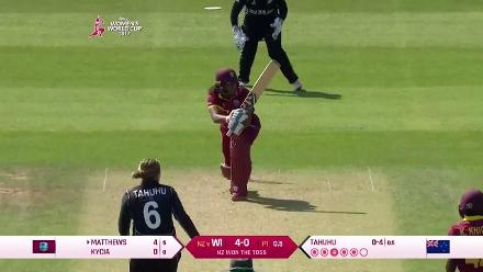 #WWC17 NZ v WI - West Indies breach the 50-run mark