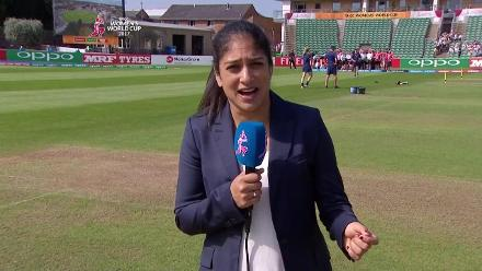 #WWC17 NZ v WI - Pitch Report