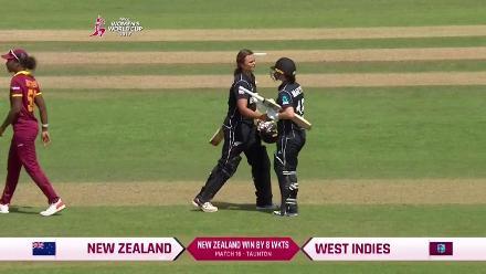 New Zealand West Indies Winning Moment