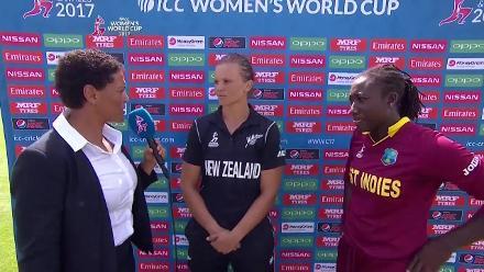 NZw vs WIw - Captains Interview