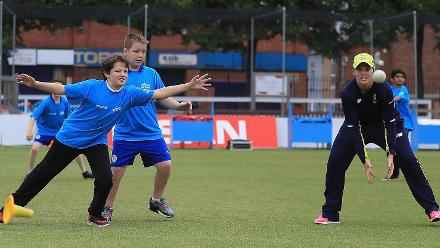 ICC Cricket For Good Clinic – South Africa, Leicester