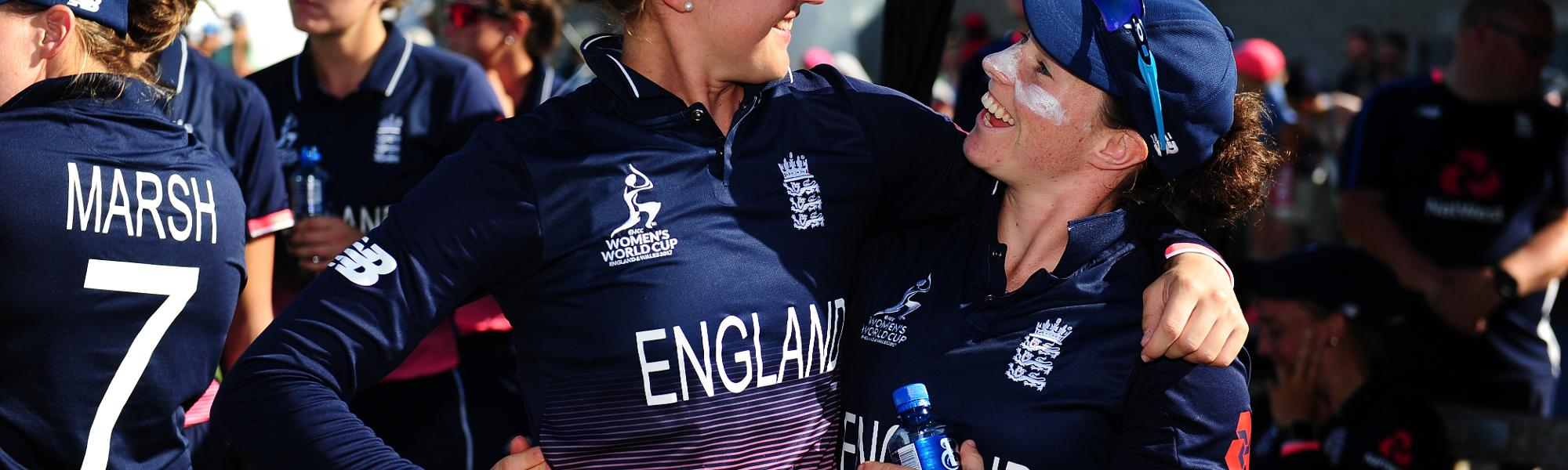 Sarah Taylor and Tammy Beaumont