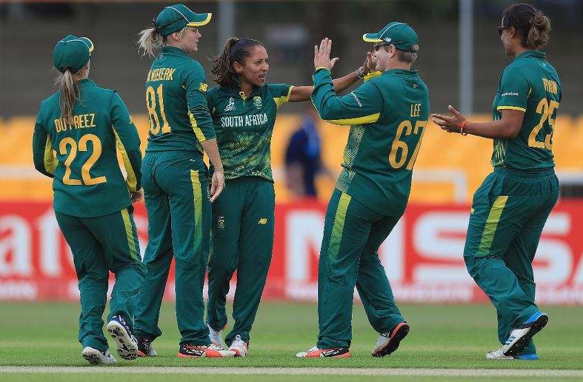 South Africa is currently sitting fifth in the table with two wins, a defeat and a washout.