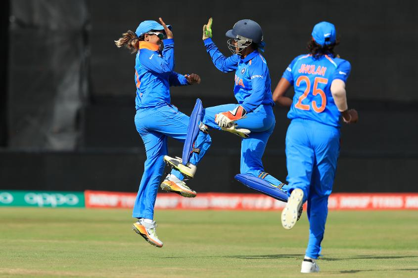 Veda Krishnamurthy conceded that she was frustrated at missing out on game time, but was cheerful as the team was winning.