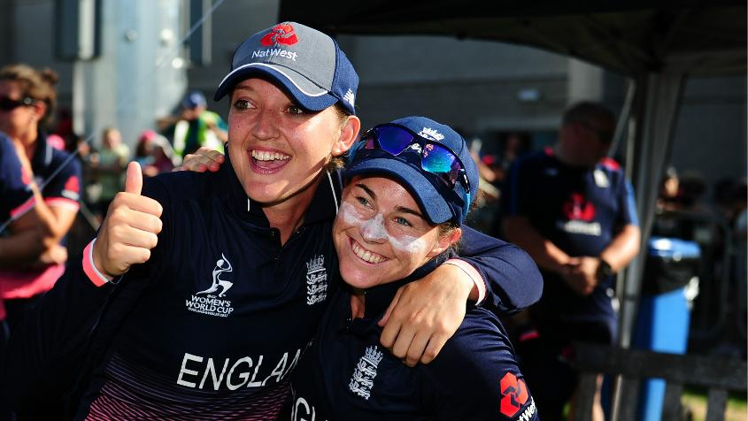 The host has seen four batters make hundreds in their four games with centurions Tammy Beaumont and Sarah Taylor making a record-breaking 275-run partnership against South Africa