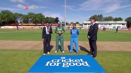 TOSS: India win the toss and elect to field first