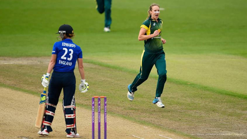 An outstanding all-round display from Ellyse Perry earned Australia valuable points in the race to win back The Ashes.
