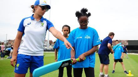 ICC Cricket For Good Clinic – Australia, Bristol