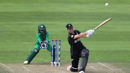 Sophie Devine's 41-ball 93 paved New Zealand's way to chase 145 in just 15 overs.