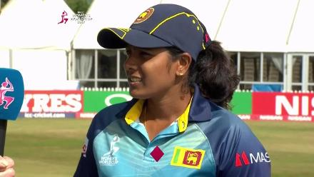 TOSS: Sri Lanka won the toss and elected to bowl first
