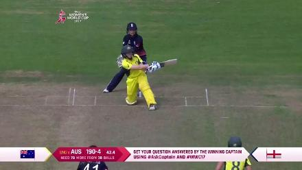 #WWC17 ENG v AUS - Alex Blackwell Innings
