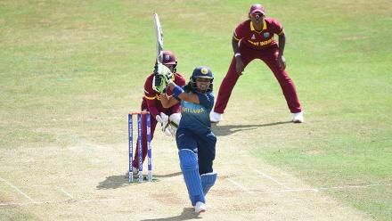 Prasadani Weerakkody scored 30 runs from 34 balls before being run out.