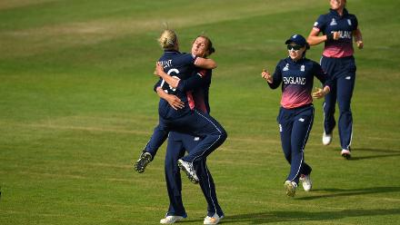 England were run close but ultimately won the game by three runs.