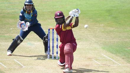 Deandra Dottin's 25-ball 38 gave West Indies a crucial boost in run rate.