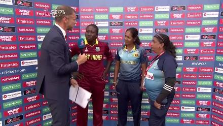 #WWC17 West Indies v Sri Lanka captain's interview
