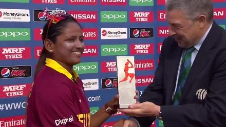 #WWC17 Player of the match- Anisa Mohammed