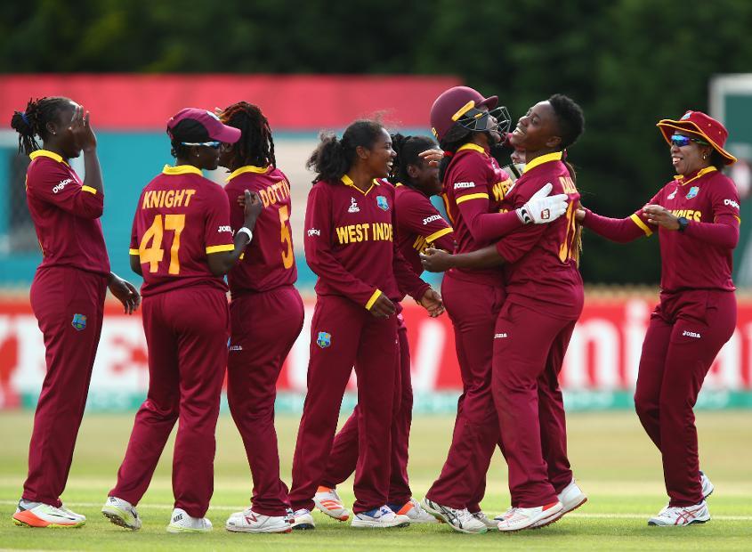 West Indies women.