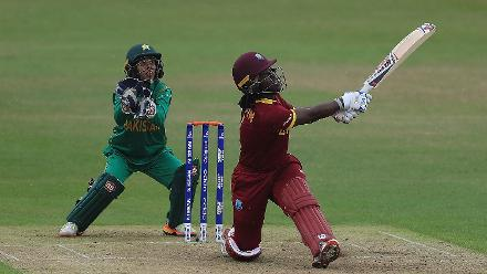 #WWC17 WI v PAK - Player Of The Match: Deandra Dottin