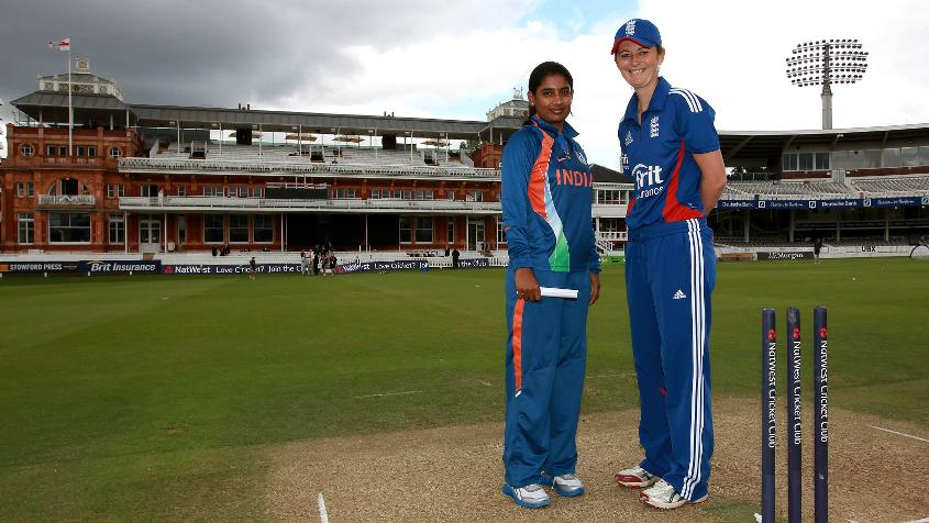 Mithali Raj is within touching distance of Charlotte Edwards' record for the most runs in women's ODI cricket.
