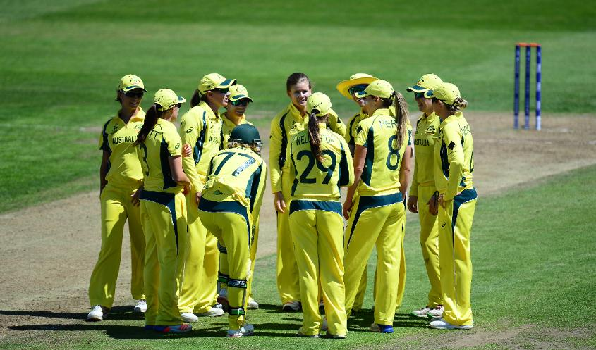 Australia has four wins from five games.