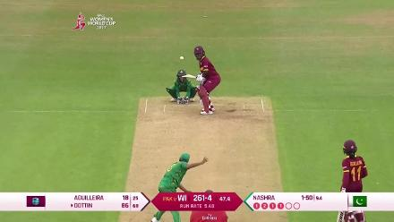 HIGHLIGHTS: #WWC17 WI v PAK - Match Highlights