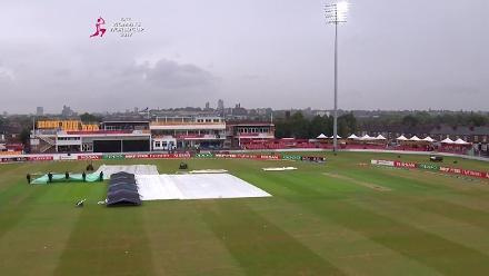 #WWC17 WI v PAK - Rain interrupts play