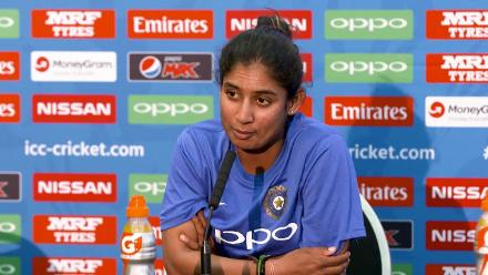 #WWC17 AUS v IND - Mithali Raj Pre-MAtch Press Conference