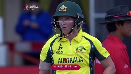 #WWC17 Meg Lanning scores an 88-ball 76 studded with seven fours and a six
