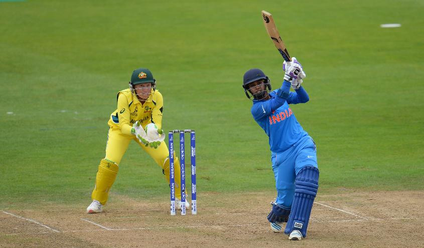 Mithali Raj became the leading run scorer in women's ODIs with her knock of 69 against Australia in a losing cause