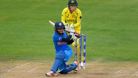 Punam Raut, however continued with her good form in the tournament, as she stitched a 157-run partnership with Mithali Raj for the second wicket